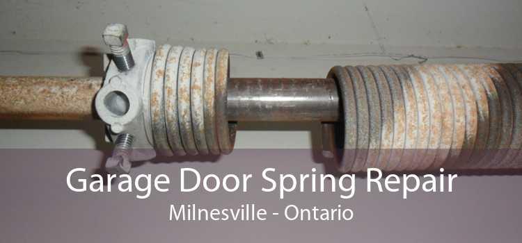 Garage Door Spring Repair Milnesville - Ontario