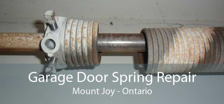 Garage Door Spring Repair Mount Joy - Ontario