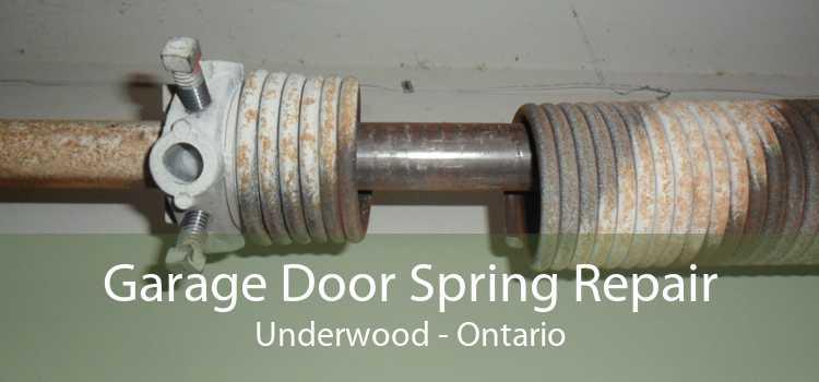 Garage Door Spring Repair Underwood - Ontario