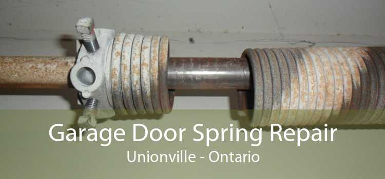 Garage Door Spring Repair Unionville - Ontario