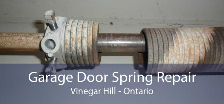 Garage Door Spring Repair Vinegar Hill - Ontario