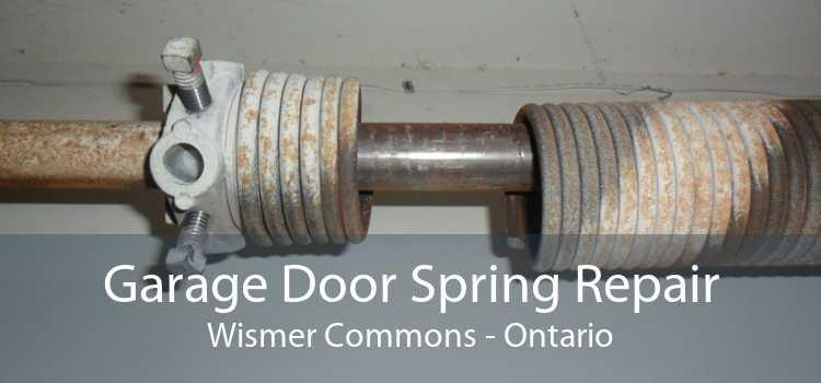 Garage Door Spring Repair Wismer Commons - Ontario