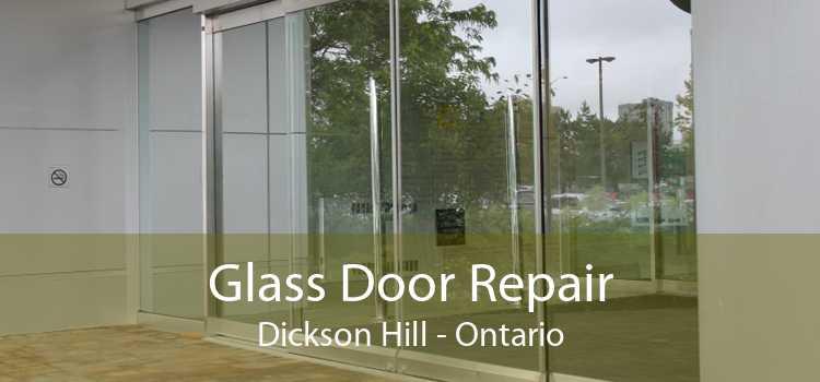 Glass Door Repair Dickson Hill - Ontario