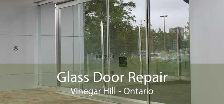 Glass Door Repair Vinegar Hill - Ontario
