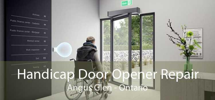 Handicap Door Opener Repair Angus Glen - Ontario