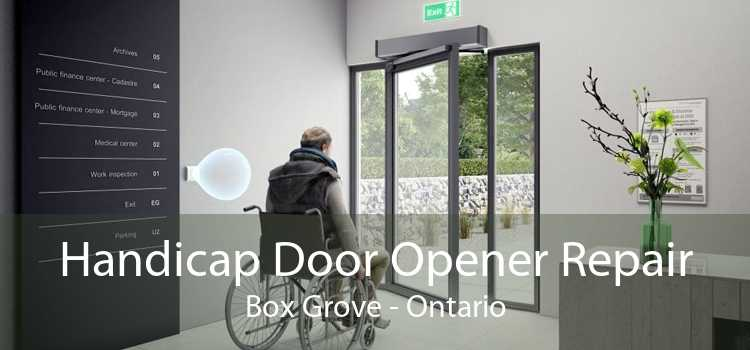 Handicap Door Opener Repair Box Grove - Ontario