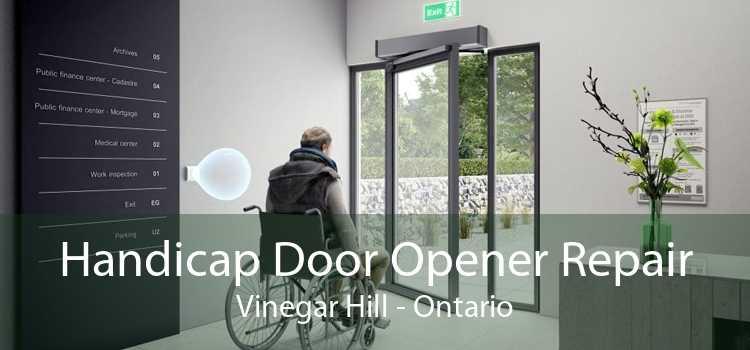 Handicap Door Opener Repair Vinegar Hill - Ontario