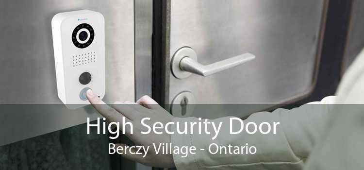 High Security Door Berczy Village - Ontario