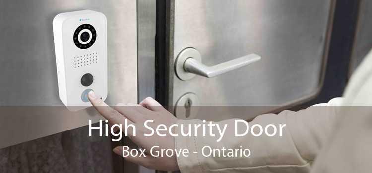High Security Door Box Grove - Ontario