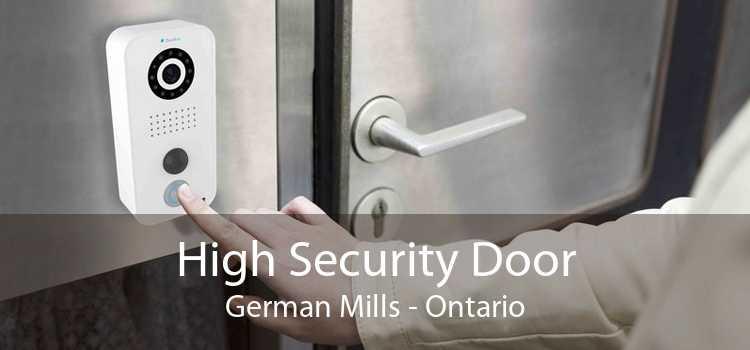 High Security Door German Mills - Ontario