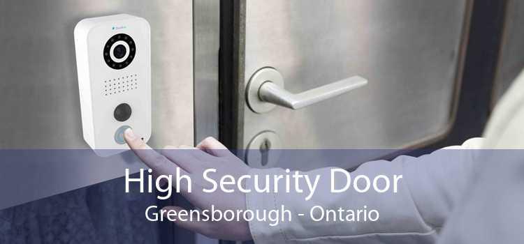 High Security Door Greensborough - Ontario