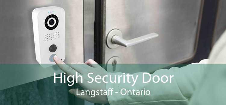 High Security Door Langstaff - Ontario