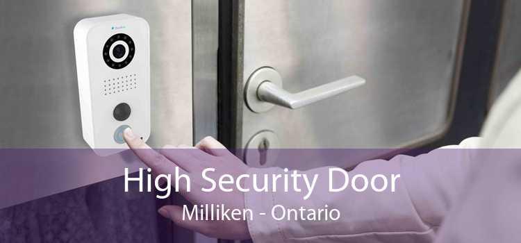 High Security Door Milliken - Ontario