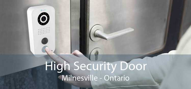 High Security Door Milnesville - Ontario