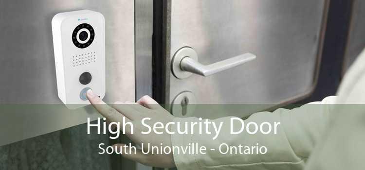 High Security Door South Unionville - Ontario