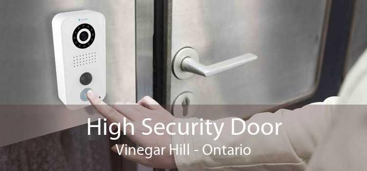 High Security Door Vinegar Hill - Ontario