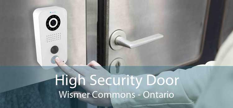 High Security Door Wismer Commons - Ontario