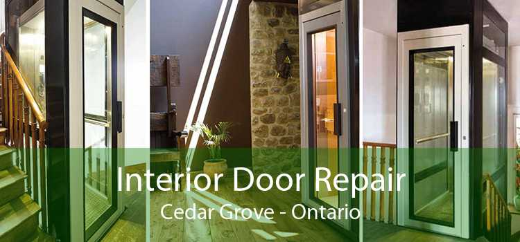 Interior Door Repair Cedar Grove - Ontario