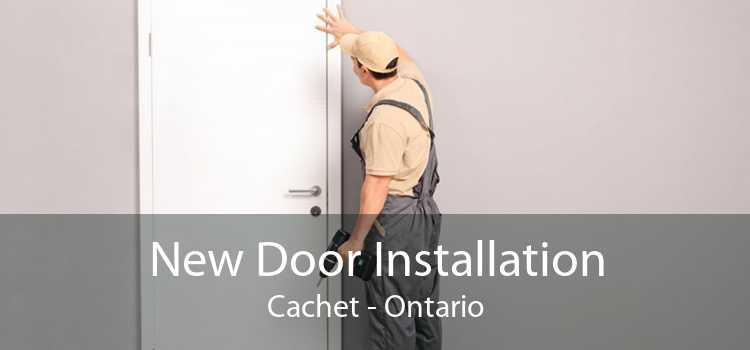 New Door Installation Cachet - Ontario