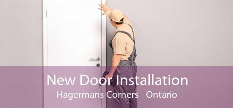 New Door Installation Hagermans Corners - Ontario