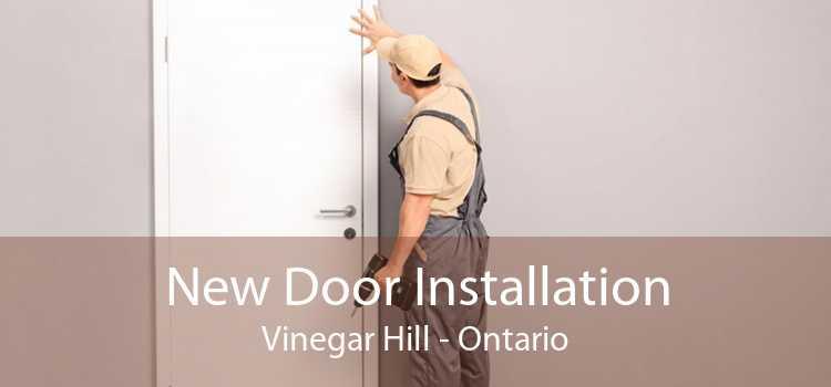 New Door Installation Vinegar Hill - Ontario