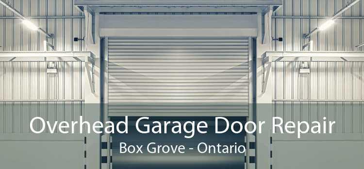 Overhead Garage Door Repair Box Grove - Ontario