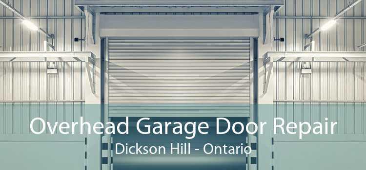 Overhead Garage Door Repair Dickson Hill - Ontario