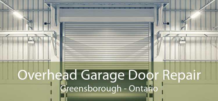 Overhead Garage Door Repair Greensborough - Ontario