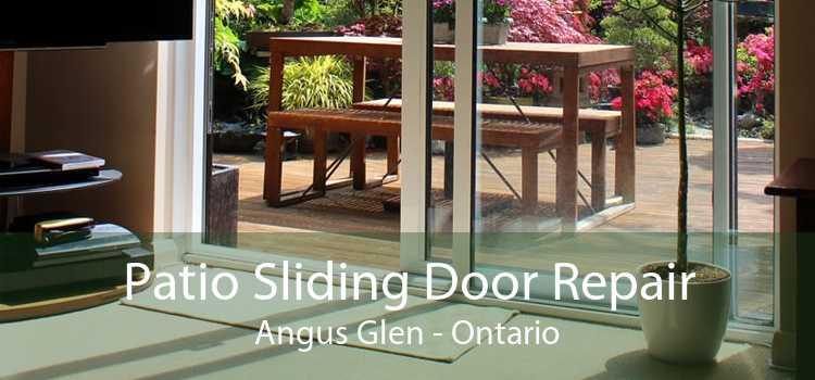 Patio Sliding Door Repair Angus Glen - Ontario