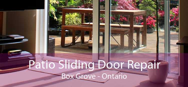 Patio Sliding Door Repair Box Grove - Ontario