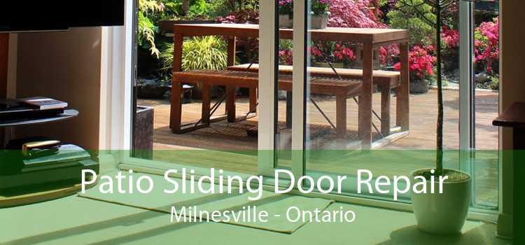 Patio Sliding Door Repair Milnesville - Ontario