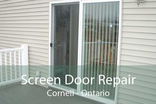 Screen Door Repair Cornell - Ontario