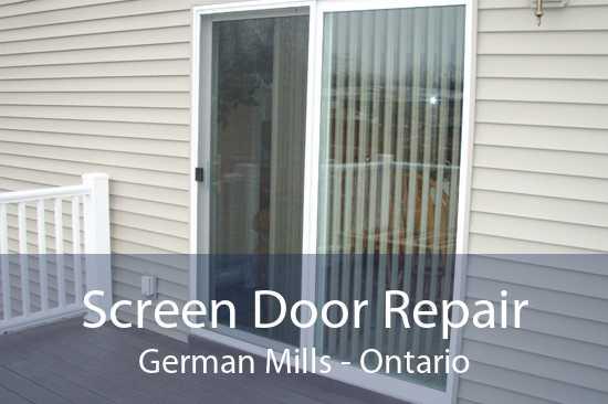 Screen Door Repair German Mills - Ontario