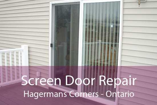 Screen Door Repair Hagermans Corners - Ontario
