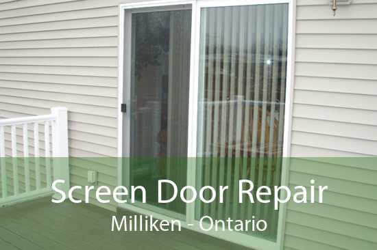 Screen Door Repair Milliken - Ontario