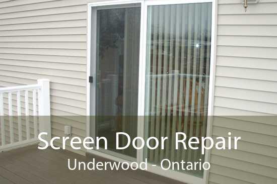 Screen Door Repair Underwood - Ontario