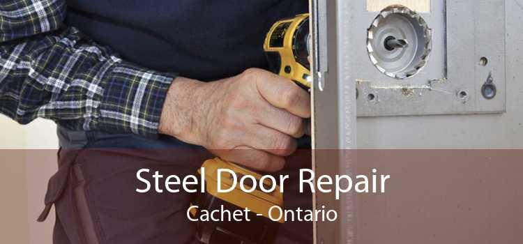 Steel Door Repair Cachet - Ontario