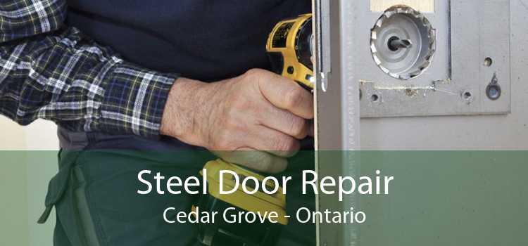 Steel Door Repair Cedar Grove - Ontario