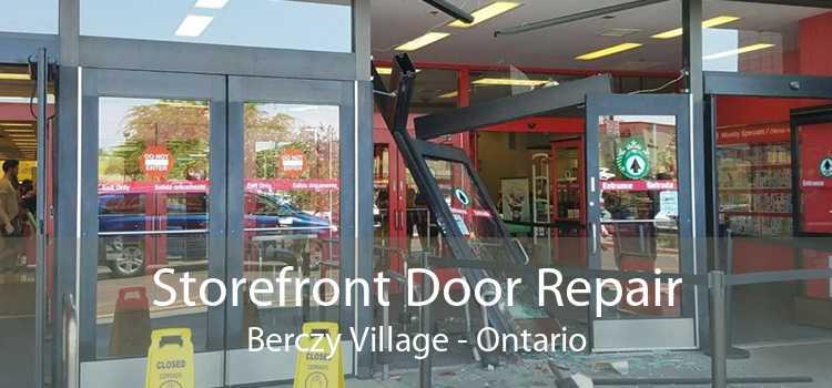 Storefront Door Repair Berczy Village - Ontario