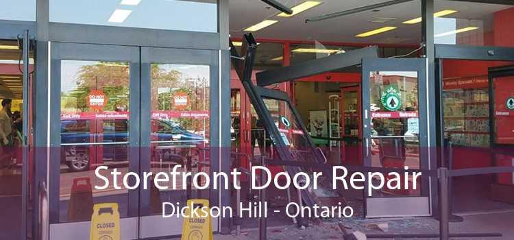 Storefront Door Repair Dickson Hill - Ontario