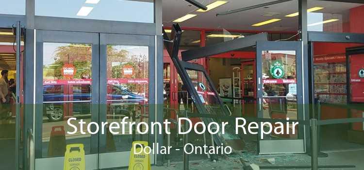 Storefront Door Repair Dollar - Ontario
