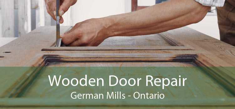 Wooden Door Repair German Mills - Ontario