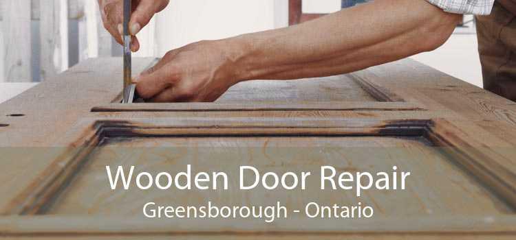 Wooden Door Repair Greensborough - Ontario